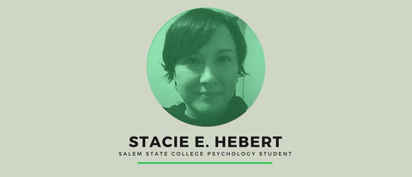 Stacie Hebert, Salem State College psychology student